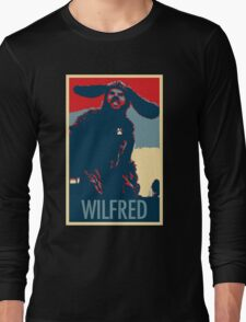 WILFRED - Posterized Long Sleeve T-Shirt
