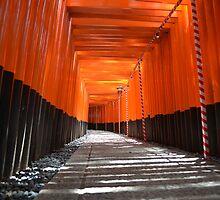 Fushimi Inari Taisha by Jessica Henderson