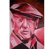 Cubist Portrait of Pablo Picasso: The Rose Period Photographic Print