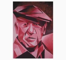 Cubist Portrait of Pablo Picasso: The Rose Period Kids Tee