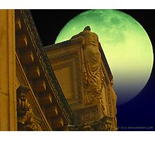 Weeping Woman atop the Colonade Photographic Print