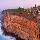 Watsons Bay Lighthouse, Sydney, New South Wales, Australia by Michael Boniwell