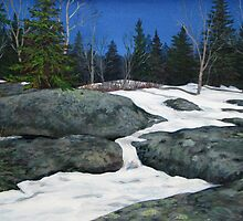 Thaw at the Second Lagoon by Laura Lea Comeau