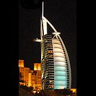 IPhone Case - Burj Al Arab - With Logo by Graham Taylor