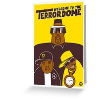 Public Enemy - Welcome To The Terrordome Greeting Card