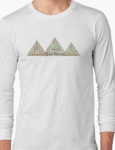 3 Peaks Challenge Long Sleeve T-Shirt