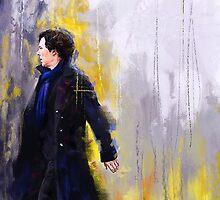 Walking Sherlock by Wisesnail