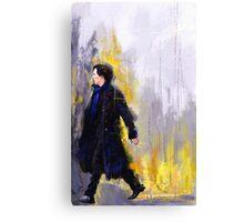 Walking Sherlock Canvas Print