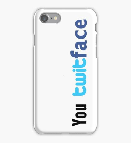 Social networking insult iPhone Case/Skin