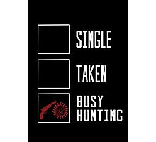 Busy hunting  Photographic Print