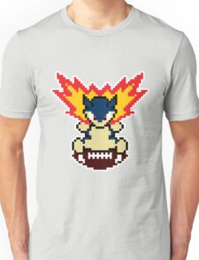 Typhlosion on a football Unisex T-Shirt