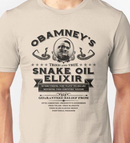Obamney's Snake Oil Elixir Unisex T-Shirt