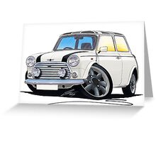 Mini Cooper (A) Greeting Card