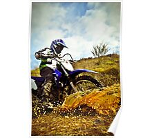 Winter Riding Poster