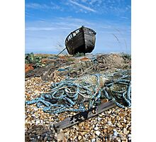 Fishing Detritus Photographic Print
