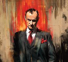 Mycroft Holmes by Wisesnail