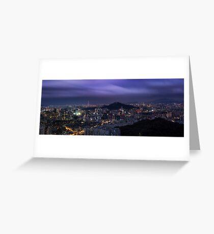Seoul Panorama Greeting Card
