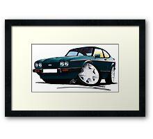 Ford Capri (Mk3) 280 Brooklands Framed Print
