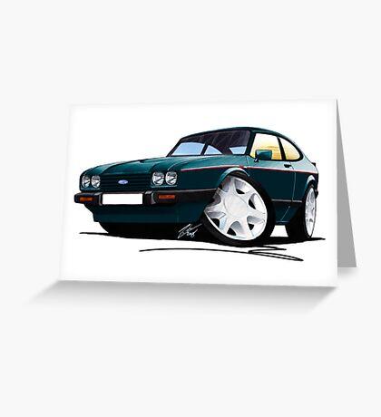 Ford Capri (Mk3) 280 Brooklands Greeting Card