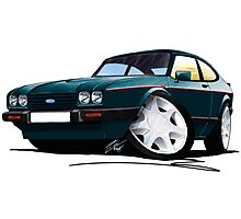 Ford Capri (Mk3) 280 Brooklands Photographic Print