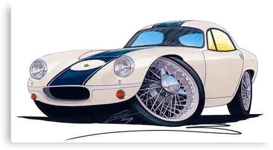 Lotus Elite Racer by Richard Yeomans