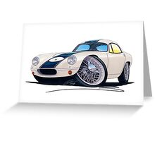 Lotus Elite Racer Greeting Card
