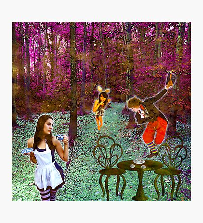 A Mad Hatter's Tea Party! Photographic Print