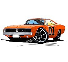 Dodge Charger - General Lee Photographic Print