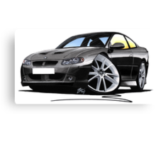 Vauxhall Monaro VXR Black Canvas Print