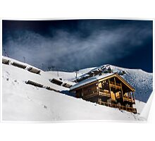 Ski Chalet  Poster