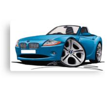 BMW Z4 (E85) Blue Canvas Print