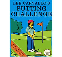 Lee Carvallo's Putting Challenge - Funny Photographic Print