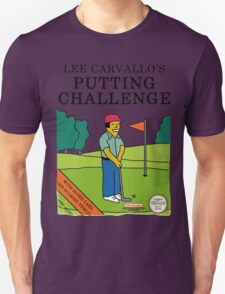 Lee Carvallo's Putting Challenge - Funny T-Shirt