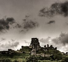 Corfe Castle by William Rottenburg