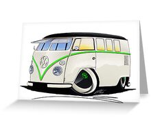 VW Splitty (11 Window) RB Greeting Card