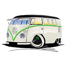 VW Splitty (11 Window) RB Photographic Print