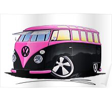 VW Splitty (23 Window) C Poster