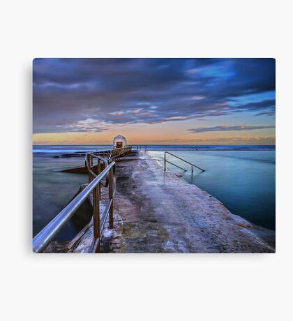 The Pump House, Merewether Ocean Baths Canvas Print
