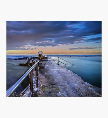 The Pump House, Merewether Ocean Baths Photographic Print