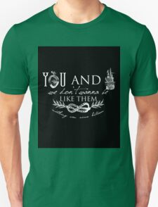 You and I - Typography T-Shirt