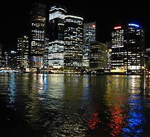 Brisbane by night by PhotosByG