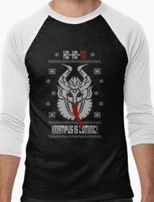 Better Be Nice...The Krampus is Coming!! Men's Baseball ¾ T-Shirt