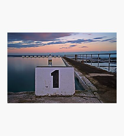No. 1, Merewether Ocean Baths Photographic Print