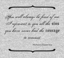 Dorian Gray - Sins Quote by StormDewleaf