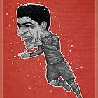 Luis Suarez Poster by SBIGGS83