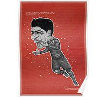 Luis Suarez Poster Poster
