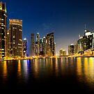 Dubai Marina by Peter Doré