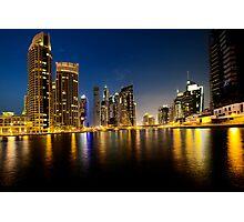 Dubai Marina Photographic Print