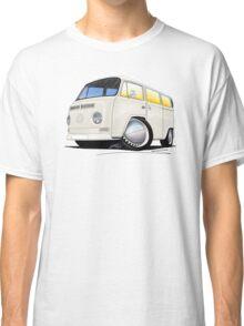 VW Bay Window Camper Van White Classic T-Shirt