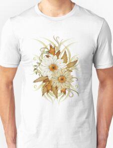 Autumn Flowers Unisex T-Shirt